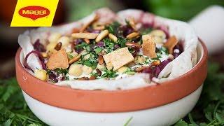 MAGGI Recipes: Fattet Chicken Musakhan وصفات ماجي: فتَة المسخَن