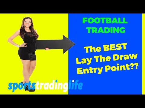 [Betfair Football Trading] Lay The Draw Strategy BEST Entry Point REVEALED!