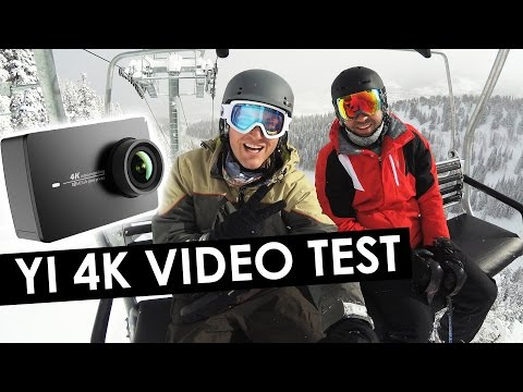 Yi 4k Action Camera Footage and Video Test