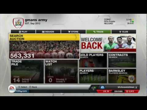 Fifa 13 Ultimate Team Easiest way to make coins ever!