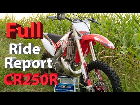 Full Ride Report from My First outing on 2003 Honda CR250R