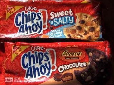 New Chips Ahoy! Cookies