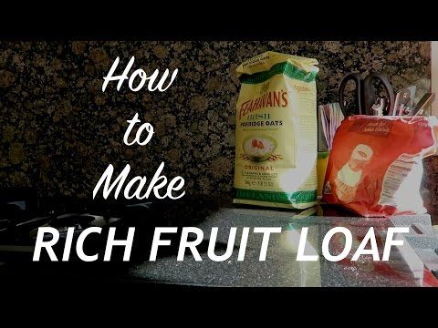 Fruit Loaf. How to Make Rich Fruit Loaf. Great for on the trail or hunting snack