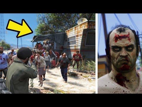 Salvando a Casa do Trevor da Infecção ZOMBI Algo trista aconteceu com ele !! - GTA 5 ZOMBIES #6
