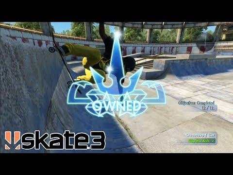 I'VE COMPLETED SKATE 3!!!
