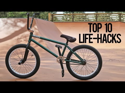 10 BMX Life Hacks that will Change Your LIFE!