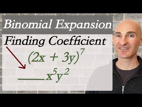 Binomial Expansion Finding Coefficient