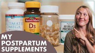 Postnatal Depletion   My Postpartum Supplements Regimen