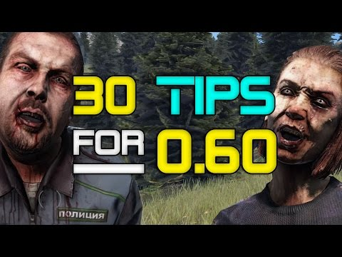 30 Juicy Tips for DayZ 0.60