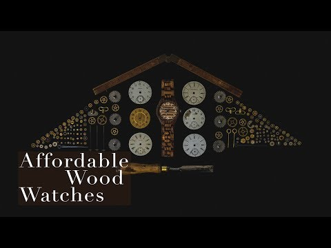Men's Watches l Affordable Wood Watches l Wonbee Review