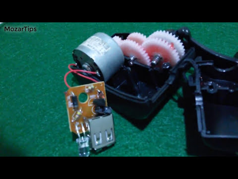 Tesing a Hand Cranking Charger + inside view