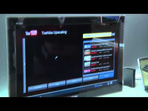 Toshiba TV's Integrate YouTube For Full Screen Display Ba...