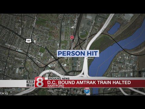 Train fatally strikes person near Union Station in Hartford