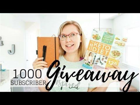 1,000 Subscribers GIVEAWAY!!!! | Jacqueline Wheeler (OPEN)