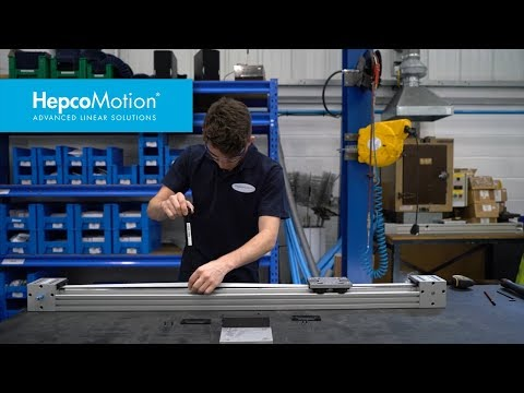 HOW TO: Adjusting and Testing the Belt Tension for a Hepco DLS Linear Actuator