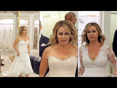 Watch This Bride Go Dress Shopping at Kleinfeld for a Wedding Redo After 109-Lb. Weight Loss