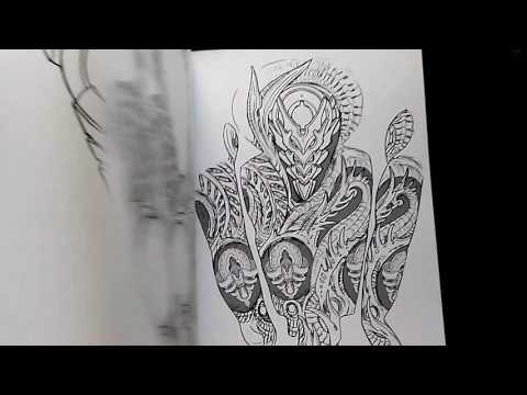 Biomechastructures - Tattoo Artist's Reference Book: Volume 1