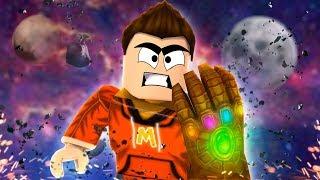 *UPDATE* Wielding the Infinity Gauntlet in Roblox! (Roblox Super Hero  Tycoon) - getplaypk