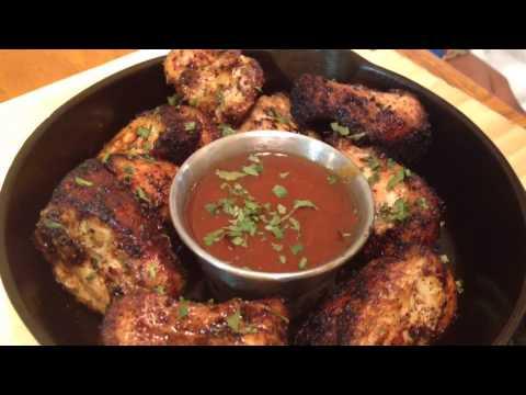 Skewered Cast Iron Chicken