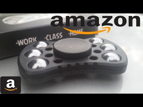 Amazon Fidget Spinner Unboxing, Review, and Giveaway.  Jarumax EDC Fidget Spinner Giveaway.