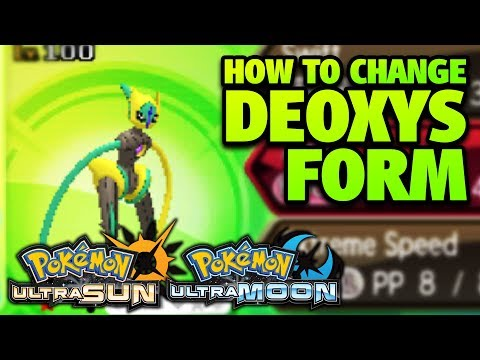 How to Change Deoxys Form in Pokémon Ultra Sun and Moon
