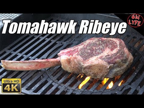 How to cook a 64 Oz Tomahawk Ribeye Steak to perfection on the Grill