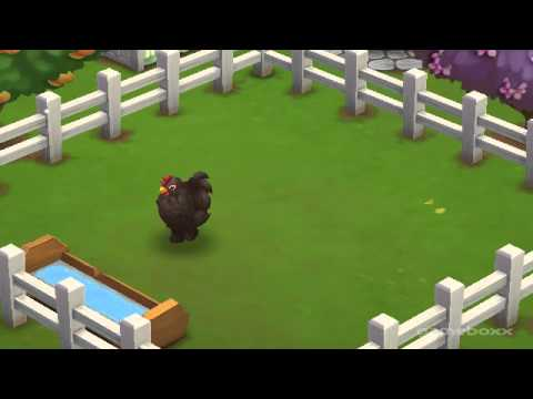 Frizzle Barred Cochin Chicken - FarmVille 2's Don't Forget Mother's Day Theme