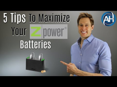 ZPower Rechargeable Hearing Aid Batteries | 5 Tips To Maximize Performance