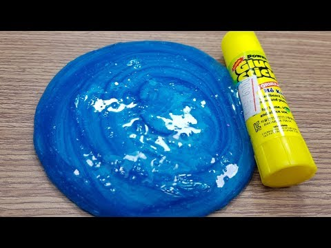 1 INGREDIENT SLIME GLUE STICK ! How to make Slime with GLUE STICK