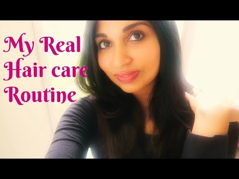 Indian Mom Hair care routine | Healthy hair care