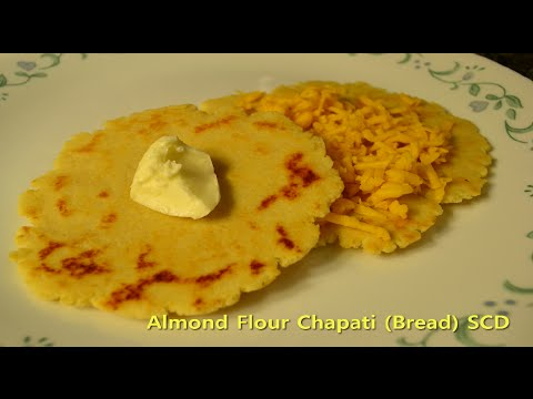 Almond Flour Chapati or Indian Bread - SCD, Gluten Free, Low Carb, Grain Free