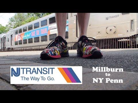 New Jersey Transit Millburn to NY Penn