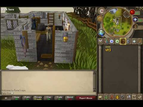 Runescape one stop easy convenient  way to change cloths skin color and hair!