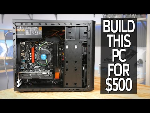 How To Build a $500 Gaming Computer