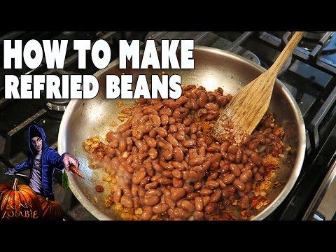 Homemade Refried Beans - The Vegan Zombie