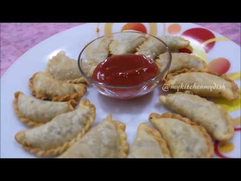 Mutton Kheema Samosa Recipe | Minced Meat Samosa