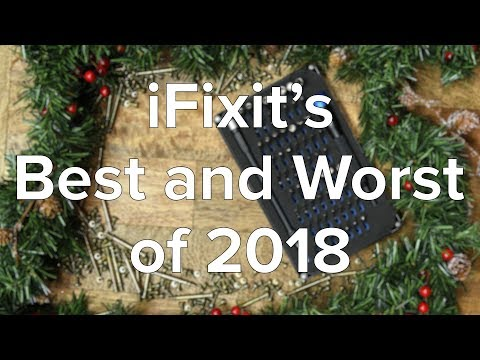 iFixit's Best and Worst Devices of 2018!