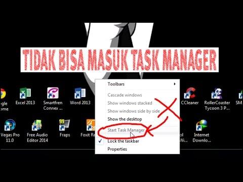 Cara mengatasi Task Manager tidak muncul