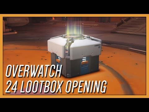 OVERWATCH 24 LOOTBOX OPENING!