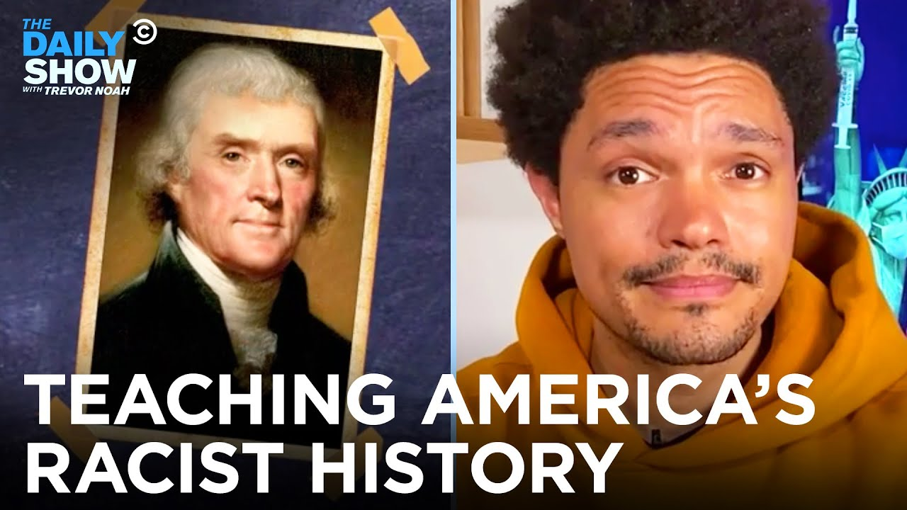 The War Over Teaching America's Racist History in Schools   The Daily Show