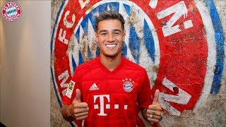 Philippe Coutinho arrives at FC Bayern! | Servus Coutinho