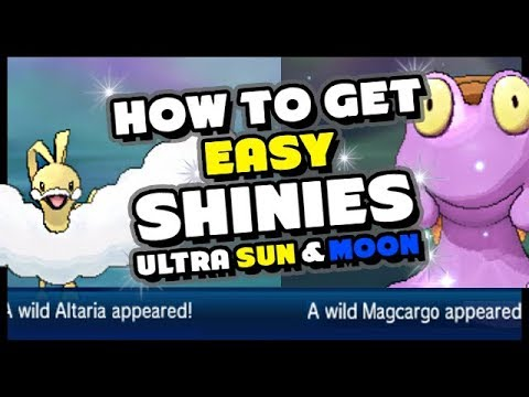 NEW EASY WAY TO GET SHINY POKEMON IN POKEMON ULTRA SUN AND MOON - How to get Shiny Pokemon!