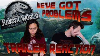 We Have Problems with the Jurassic World 2 Trailer...