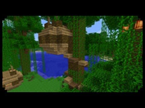 ✔ Minecraft: How to make a Tree House