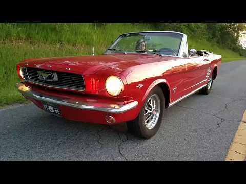1966 Ford Mustang Convt. for sale $19,900 810-691-2664