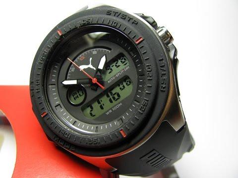 PUMA Fuel Digital and Analog Watch
