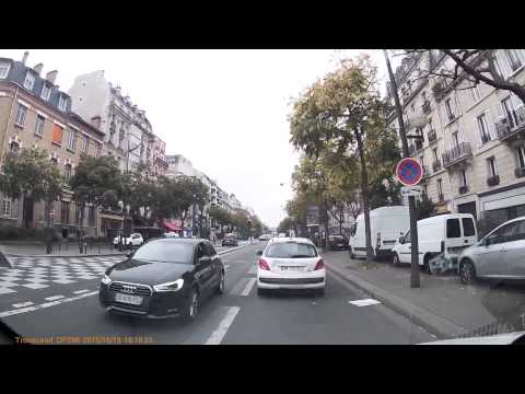 Driving In France - An Afternoon At Work In Paris & Suburbs