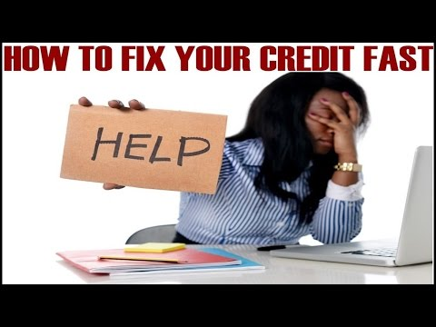 How To Fix Credit Fast