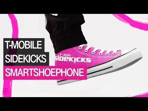 Introducing the New T-Mobile Sidekicks: The World's First Smartshoephone | T-Mobile