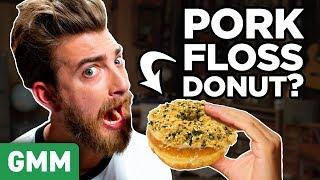 International Dunkin Donuts Taste Test